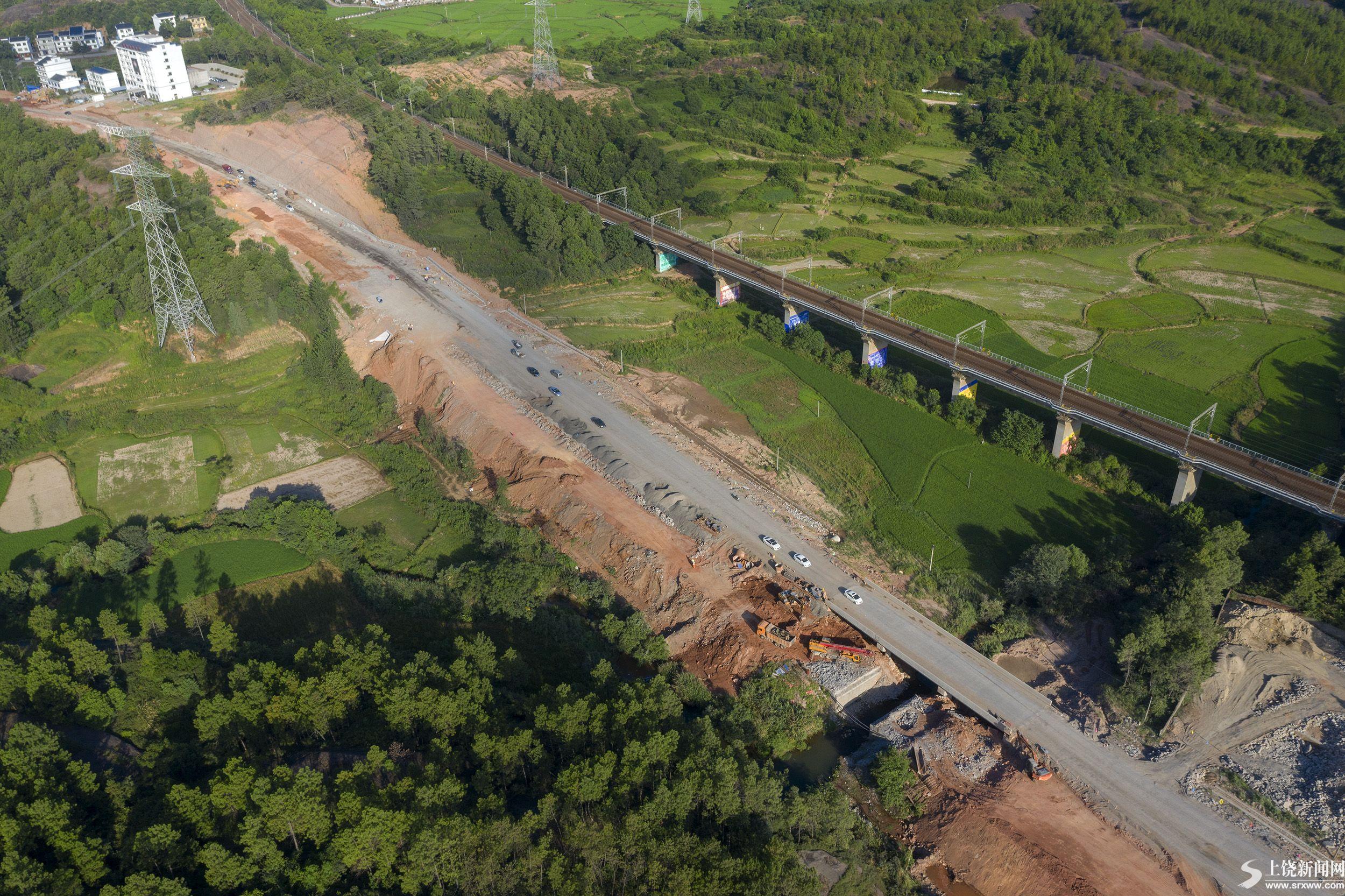 320国道横峰段 改建进展顺利
